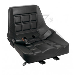 Seat with guide and safety...